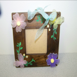 decorated pricture frame 2