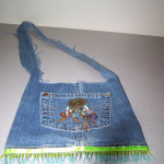 green jeans purse