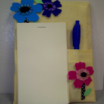 magnetic notepad and pen set